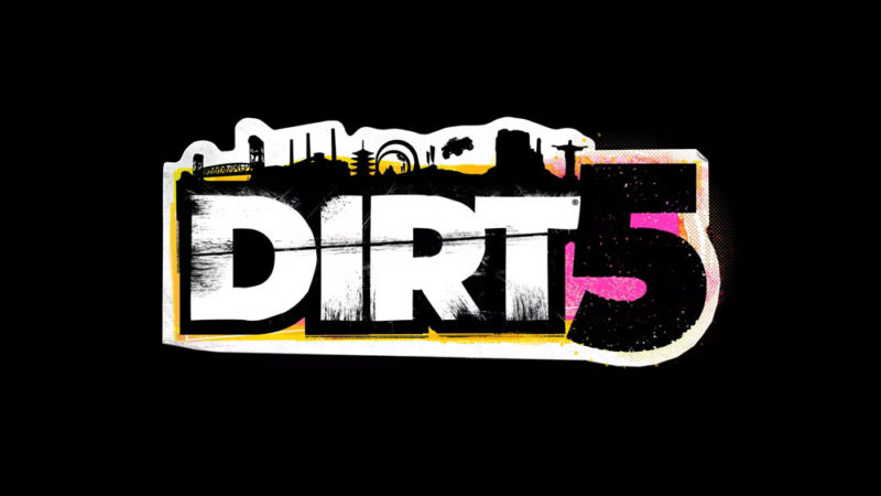DiRT 5 game logo