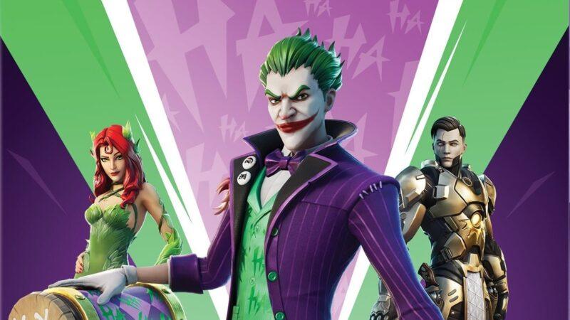 Джокер и Ядовитый Плющ появится осенью в Fortnite