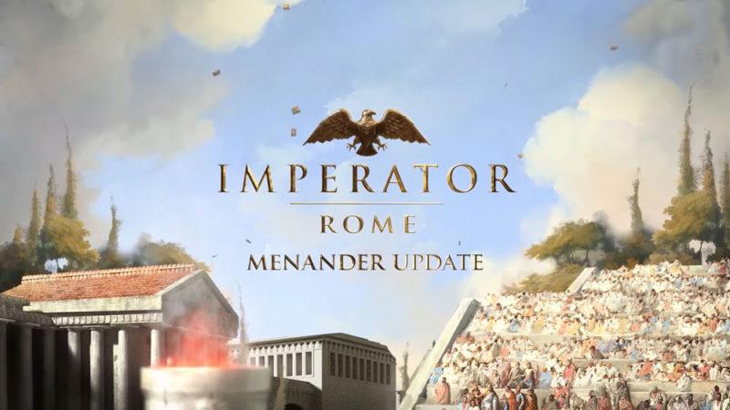 Меняйте политику и культуру в новом дополнении к Imperator: Rome