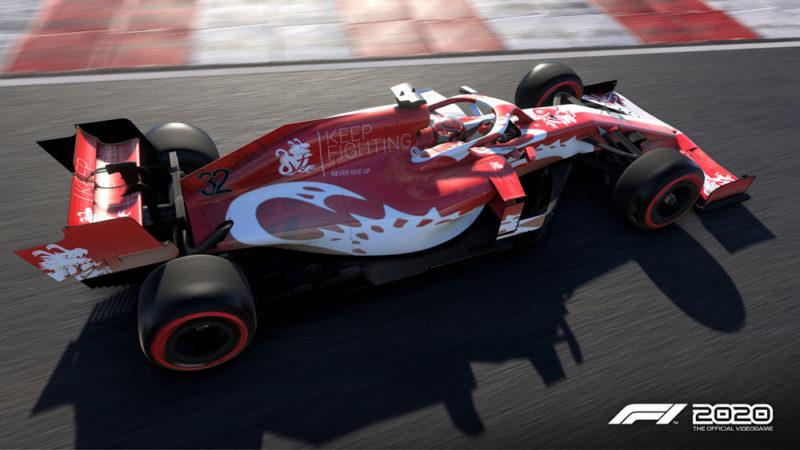 В F1 2020 появилось благотворительное DLC
