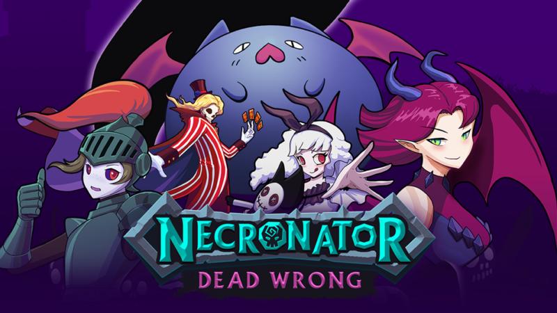 Necronator: Dead Wrong Logo