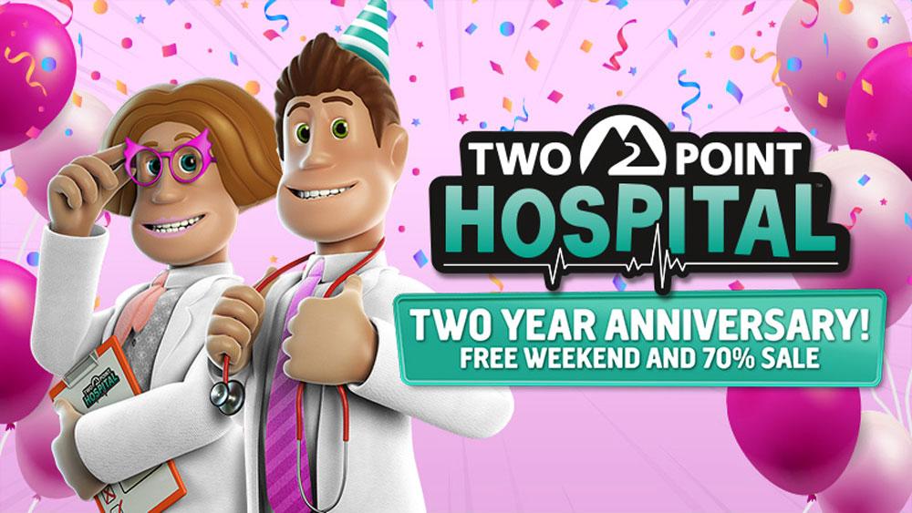 Бесплатные выходные в Two Point Hospital
