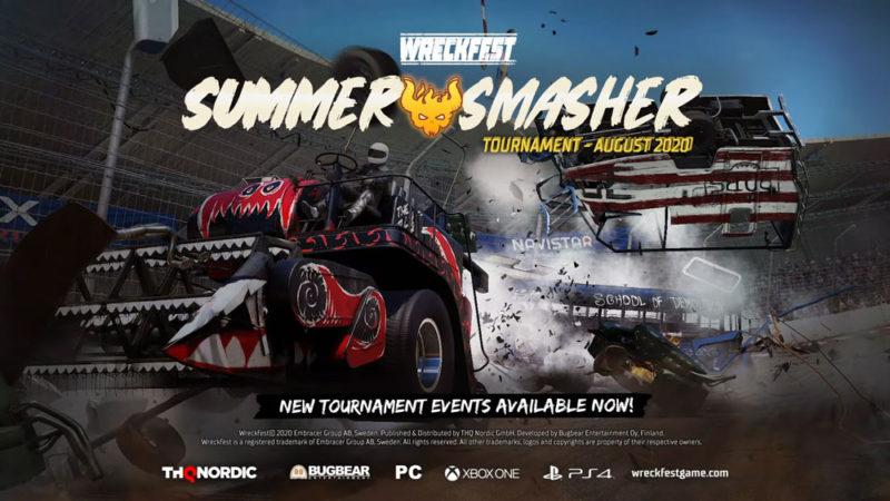 Wreckfest запускает турнир SUMMER SMASHER