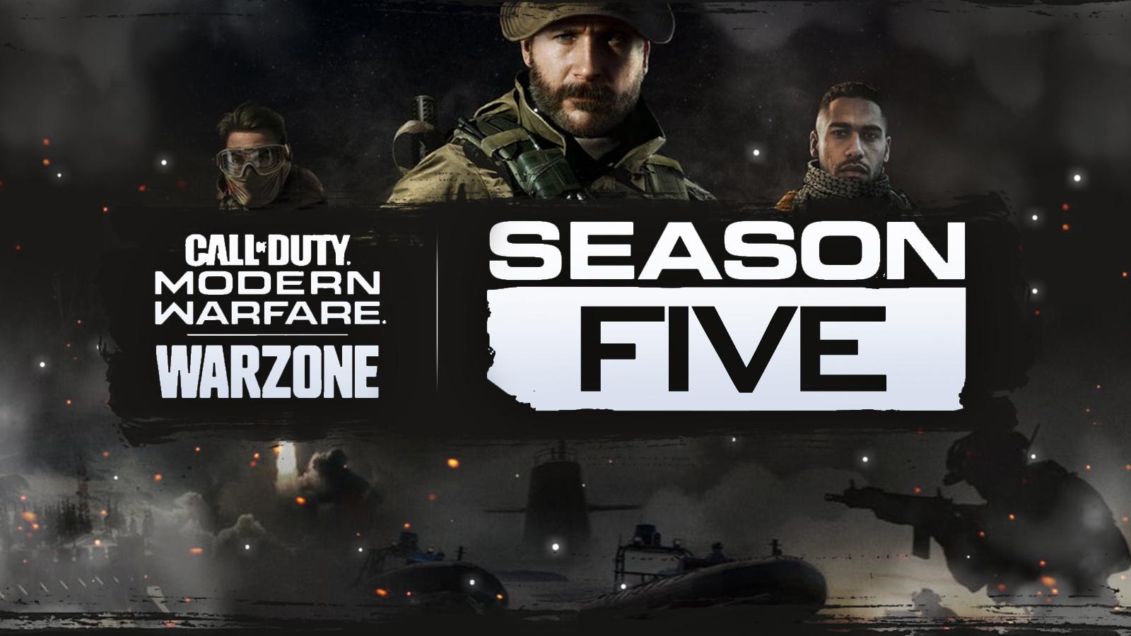 В COD: Warzone начинается пятый сезон