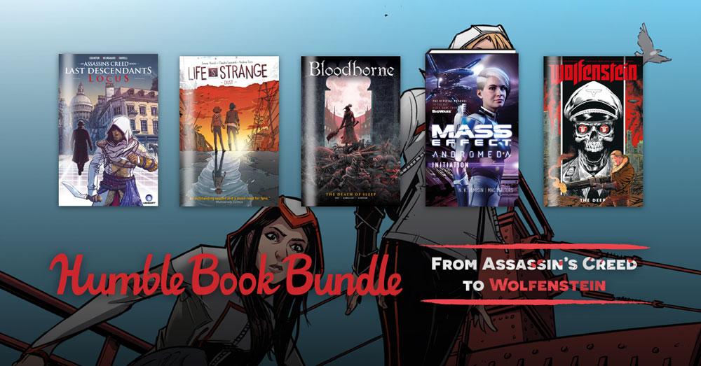На Humble Bundle продается набор комиксов по играм