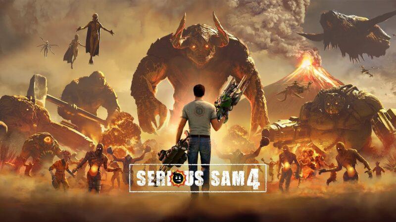 В Serious Sam 4 вам достанется боевая машина Папы Римского