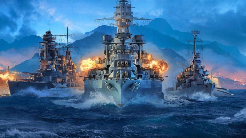 World of Warships game logo