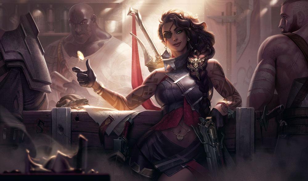 Riot Games представили нового чемпиона League of Legends