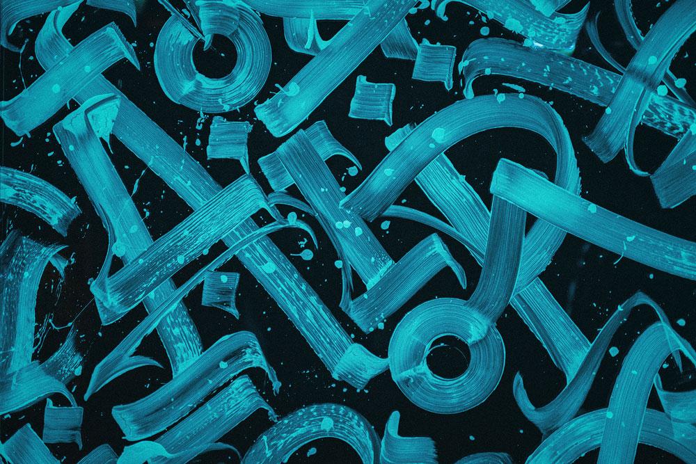 Покрас Лампас создал уникальный шрифт для VALORANT