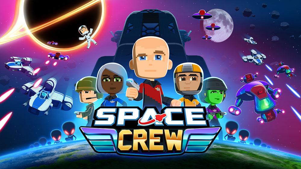 Space Crew ушла на золото