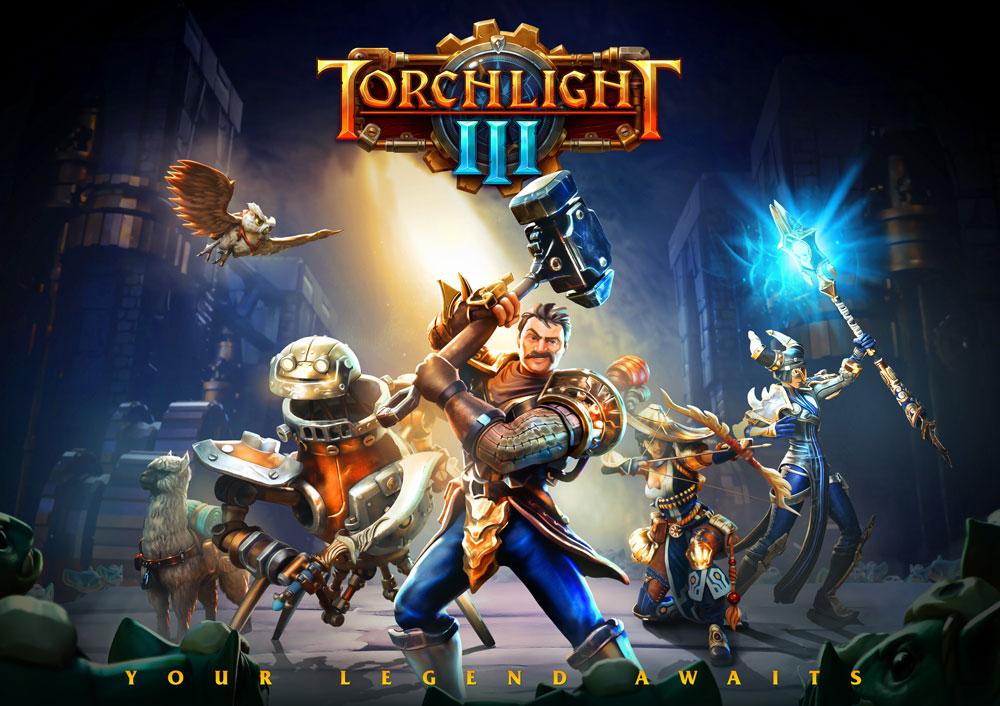 Torchlight III выйдет 13 октября на ПК, Xbox One и Playstation 4