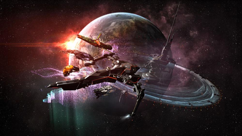 Игроки EVE Online помогают бороться с COVID-19