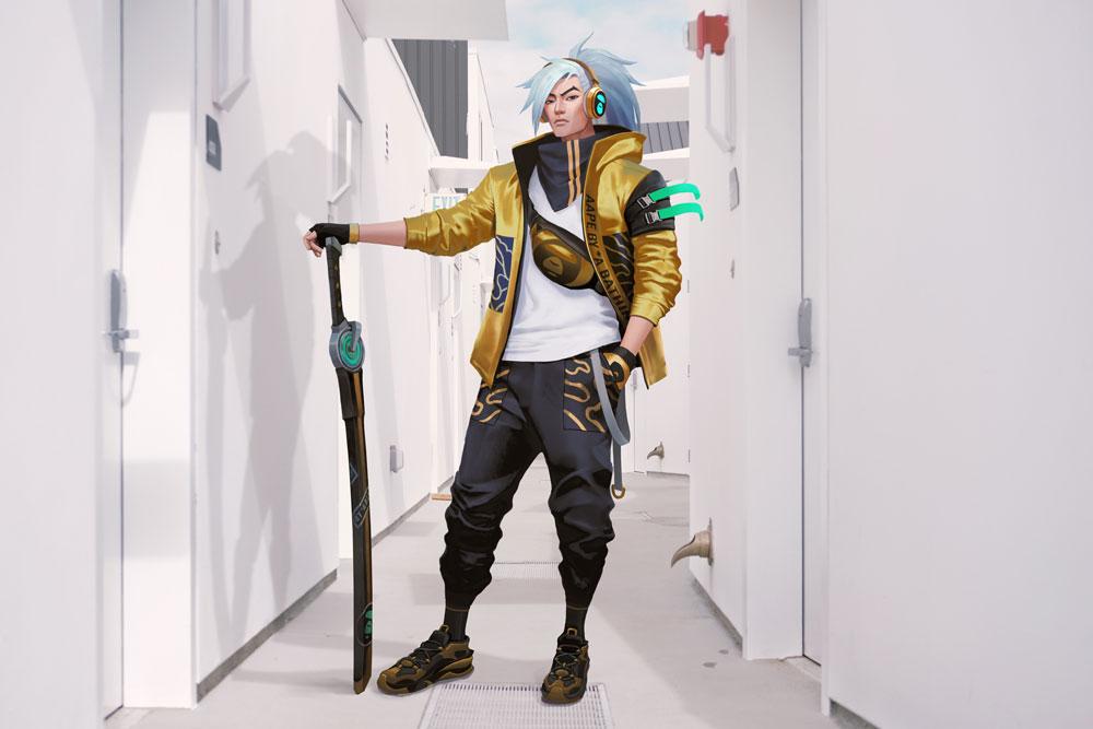 AAPE BY A BATHING APE и Riot Games представили коллекцию одежды