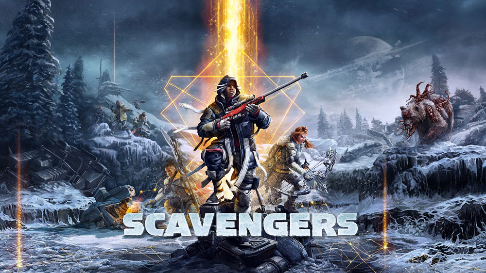 Scavengers game logo