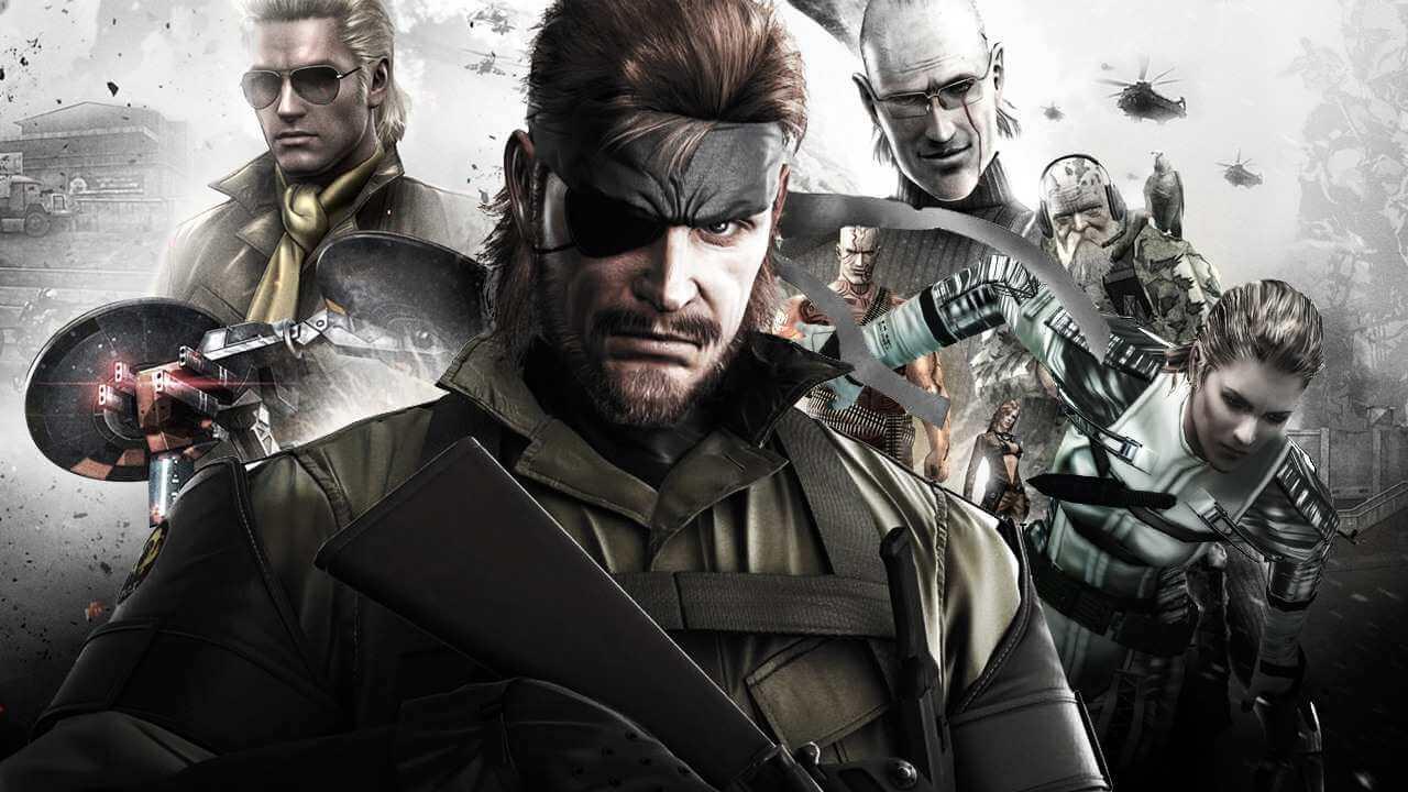 К релизу на PC готовят Metal Gear Solid, Metal Gear Solid 2: Substance и Metal Gear?