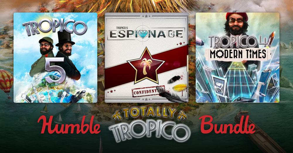 В Humble Bundle продают набор Tropico