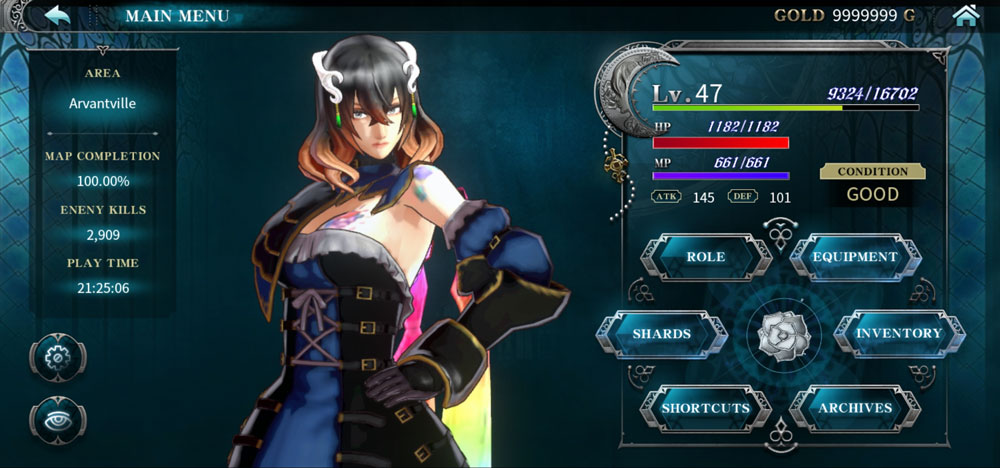 Bloodstained: Ritual of the Night анонсирована на iOS and Android