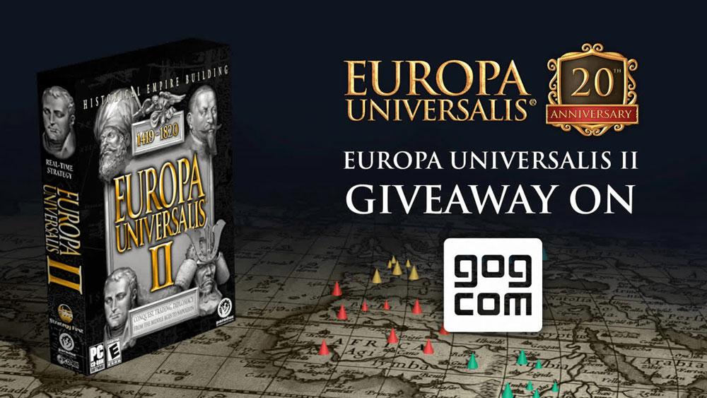 Забираем Europa Universalis II бесплатно