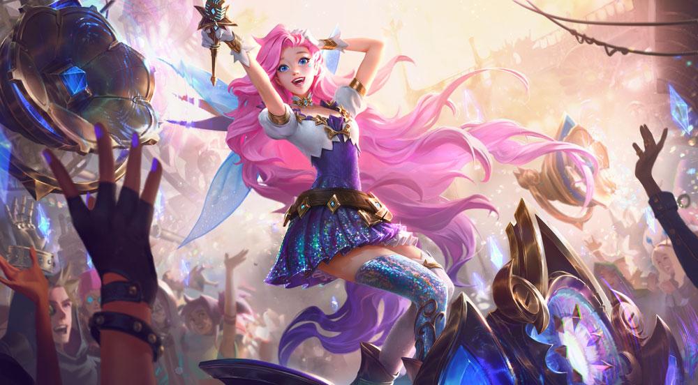 Серафина, новый чемпион League of Legends, уже в игре