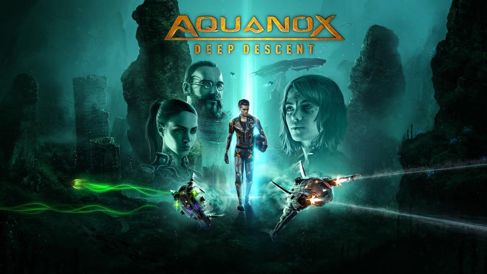 Aquanox Deep Descent радует новым бодрым трейлером