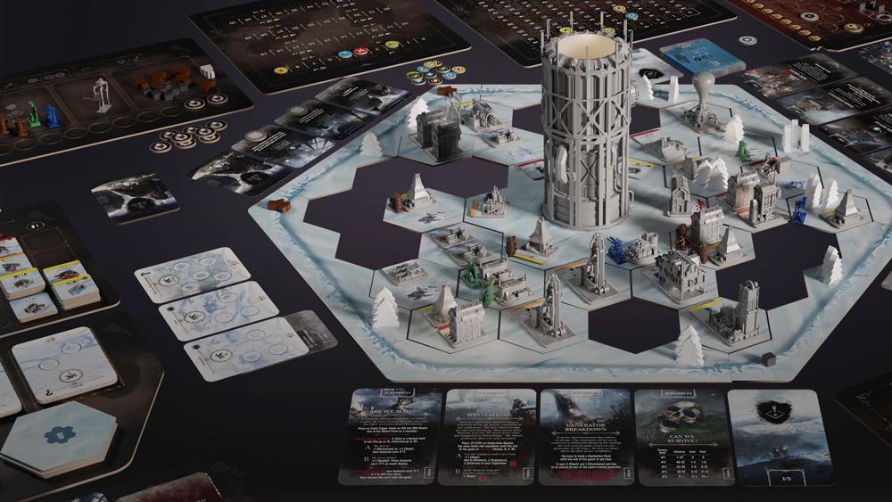 Выживаем во льдах в Frostpunk: The Board Game