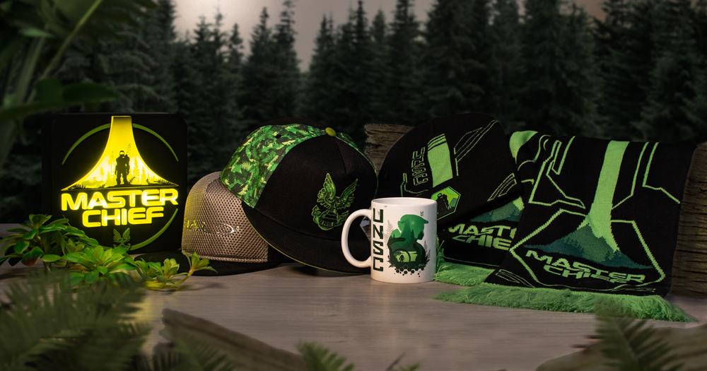 Numskull Designs представляет множество товаров в стилистике Halo