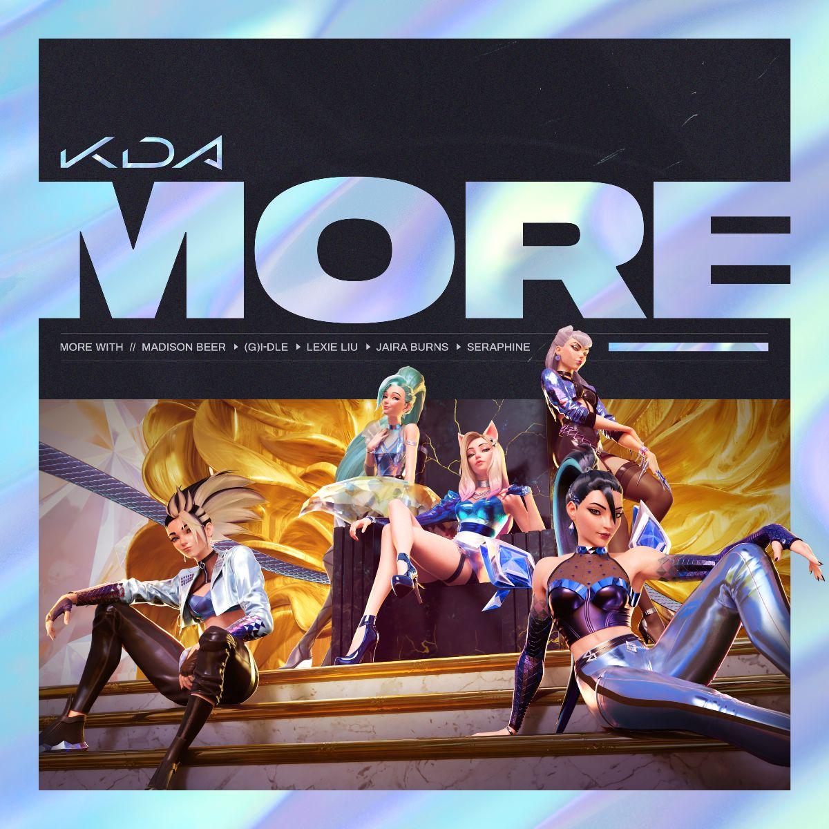 """Поп-группа K/DA представила новое музыкальное видео """"MORE"""""""