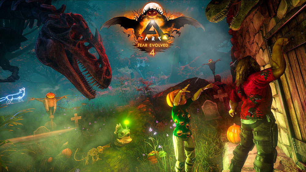 Отпразднуем Хэллоуин с ARK: Survival Evolved