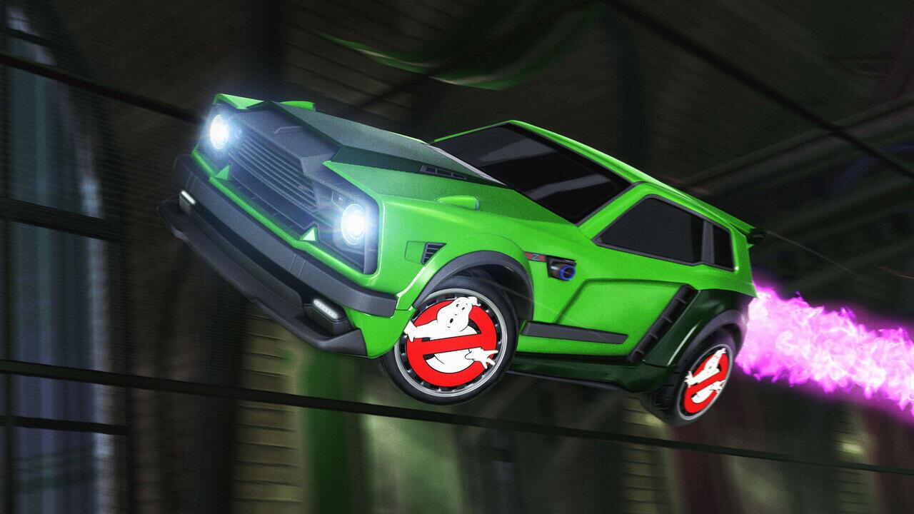 """""""Охотники за приведениями"""" появятся в Rocket League"""