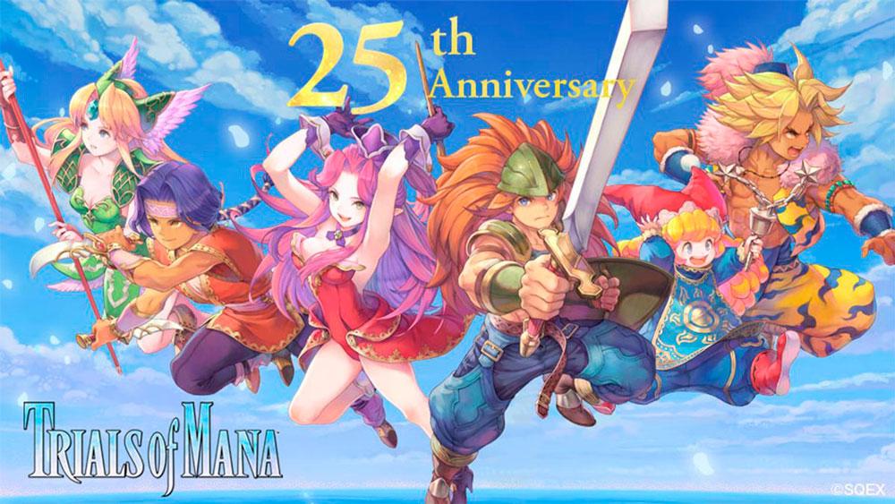 Бонусы в честь 25 летия игры Trials of Mana