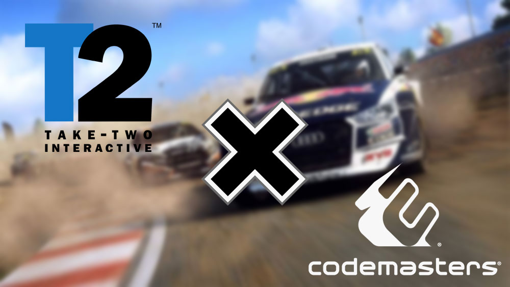 Take-Two приобрела Codemasters