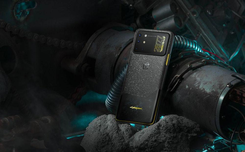 В Китае стартовали предзаказы OnePlus 8T Cyberpunk 2077 Limited Edition