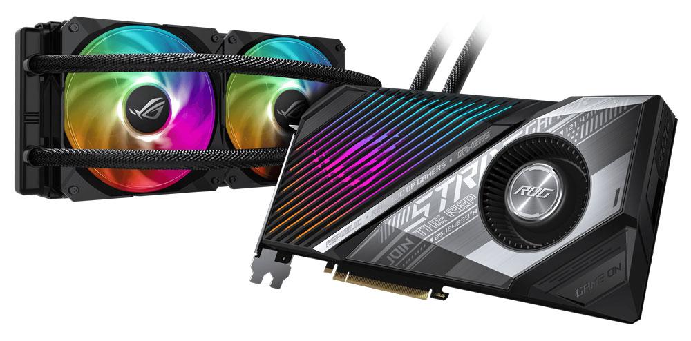 ASUS представила видеокарты на основе Radeon RX 6800