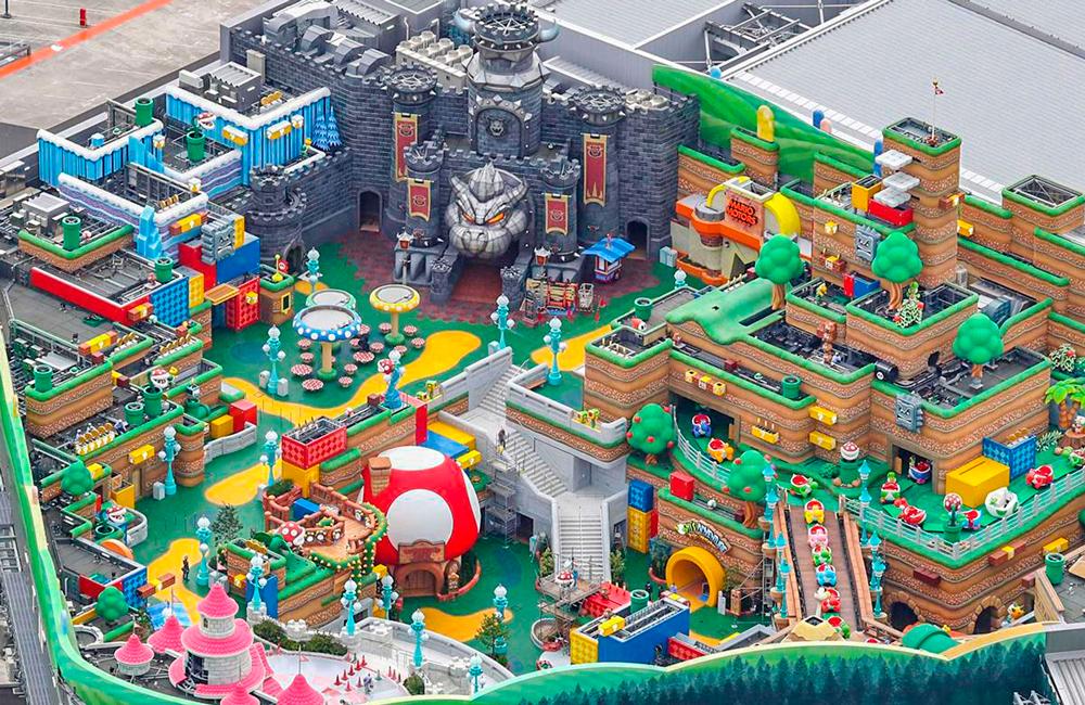 Открытие Super Nintendo World Japan
