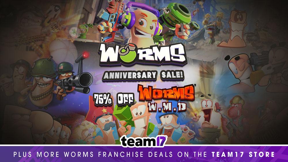 Team 17 запустила праздничную распродажу