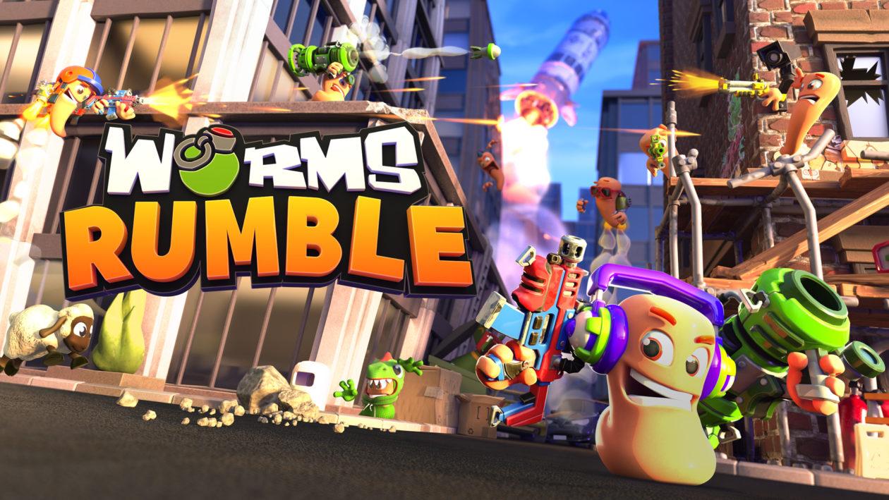 Открытая бета Worms Rumble