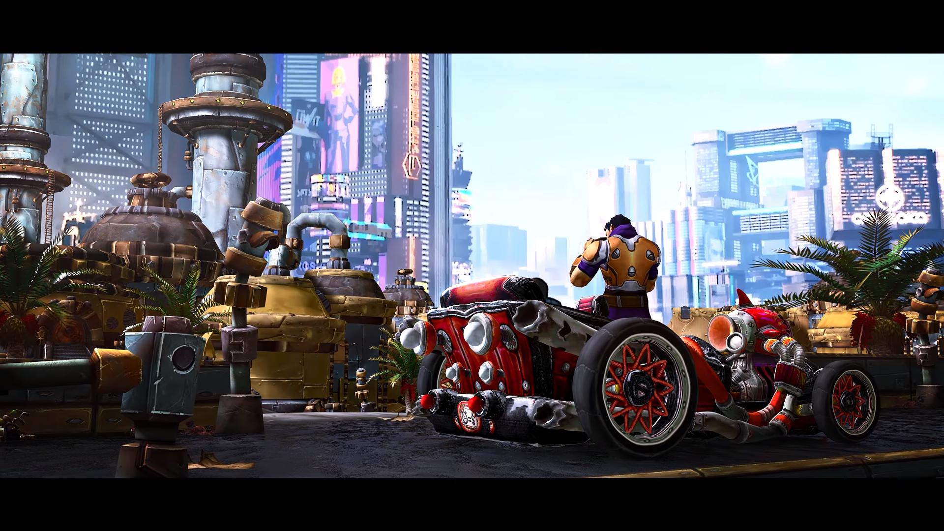 Трейлер Cyberpunk 2077 на движке World of Warcraft