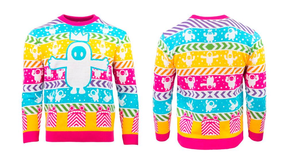 Хотите новогодний свитер Fall Guys?