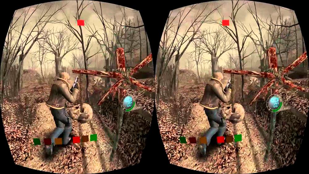 Разработка Resident Evil 4 для VR