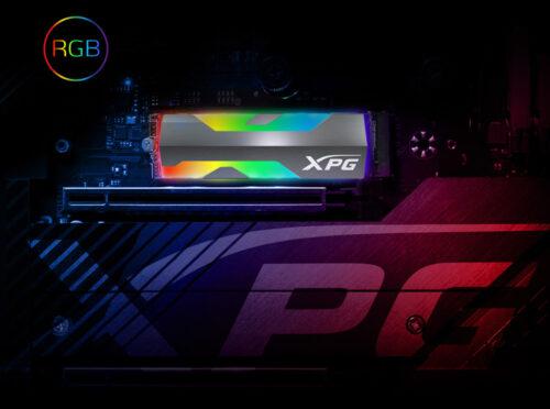 ADATA представила SSD SPECTRIX S20G PCIe Gen3x4 M.2 2280