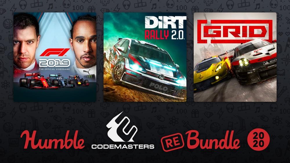 В Humble Bundle продают набор Codemasters