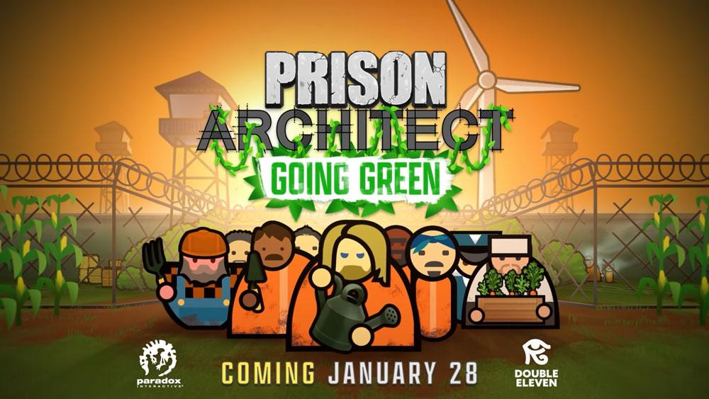"Тюрьмы в Prison Architect станут ""зелёными"""