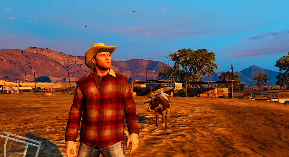 GTA 5 на движке Red Dead Redemption 2
