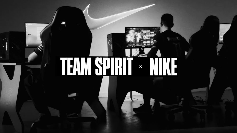Nike и Team Spirit объявили о сотрудничестве