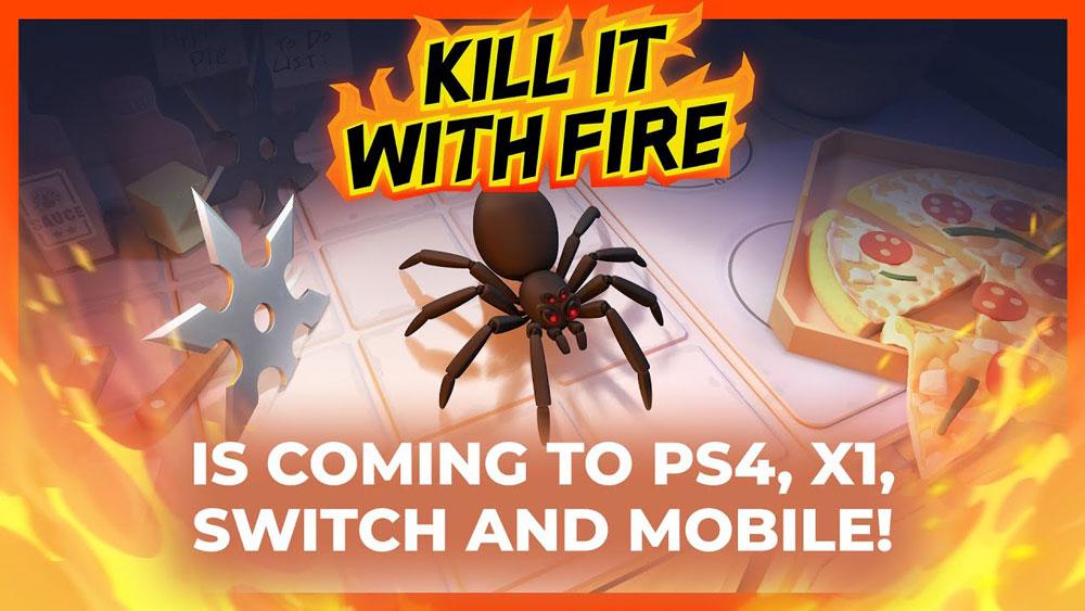 Kill It With Fire выходит на консолях и смартфонах