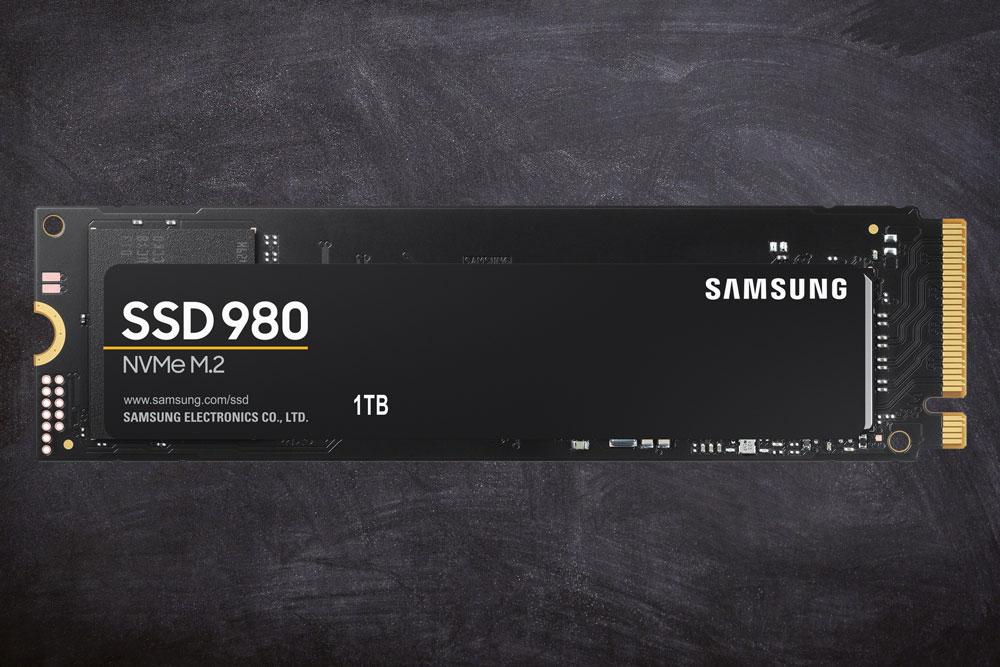 Samsung представила накопитель 980 NVMe без DRAM-буфера