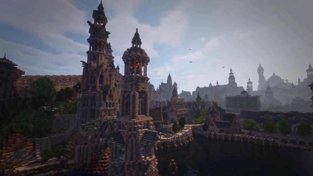 Игроки воссоздают Средиземье в Minecraft