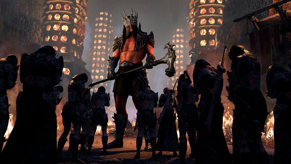"The Elder Scrolls Online разгорелся ""Огонь амбиций"""