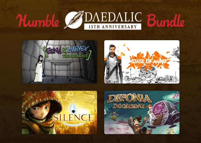 На Humble Bundle продают набор в честь 15-летия Daedalic