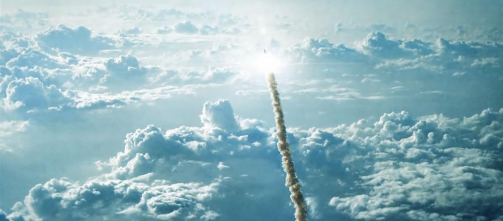 Фигурка Астронавта Тимо поднимялась в стратосферу